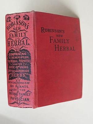 The New Family Herbal: Comprising a description: Matthew Robinson