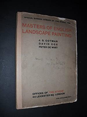 Masters of English Landscape Painting: J S: Charles Holme, Ed.