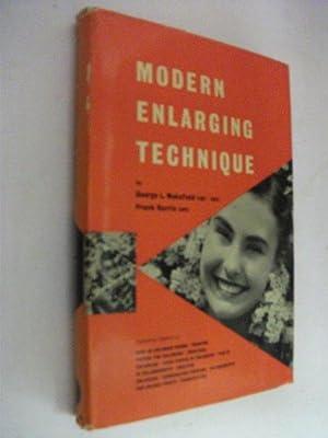 Modern Enlarging Technique: George L Wakefield