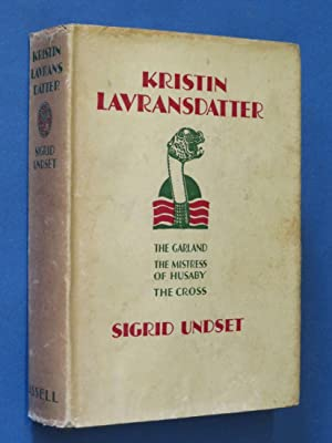 Kristin Lavransdatter: Sigrid Undset