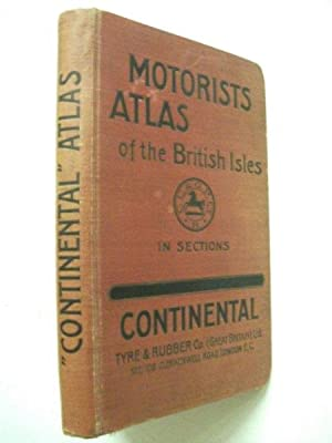 Motorists Atlas of the British Isles - 1910