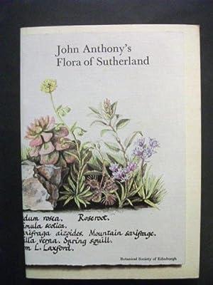 John Anthony's Flora of Sutherland: Kenworthy, J B