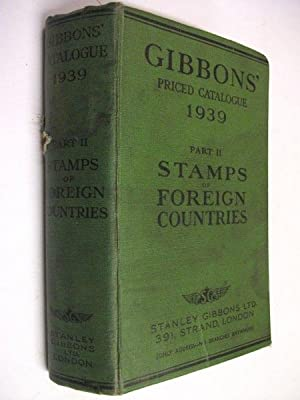 Gibbons' Priced Catalogue of Stamps 1939: Part: N/a
