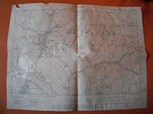 Map of Yorkshire: Sheet CLXXXV NE