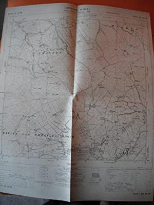 Map of Yorkshire: Sheet SD 84 SW