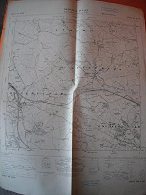 Map of Yorkshire: Sheet SD 85 NE