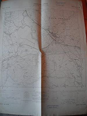 Map of Yorkshire: Sheet SD 85 NW