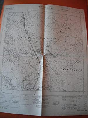 Map of Yorkshire: Sheet SD 86 NW