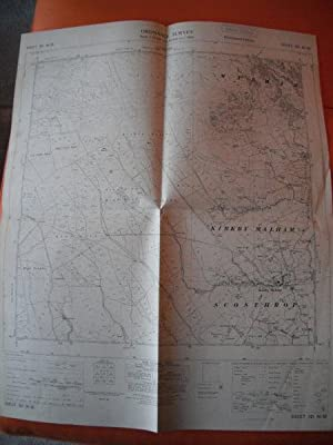 Map of Yorkshire: Sheet SD 86 SE
