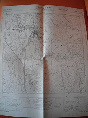 Map of Yorkshire: Sheet SD 86 SW