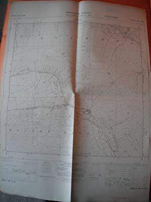 Map of Yorkshire: Sheet SD 87 NE