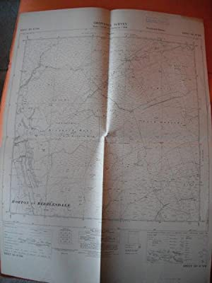Map of Yorkshire: Sheet SD 87 NW