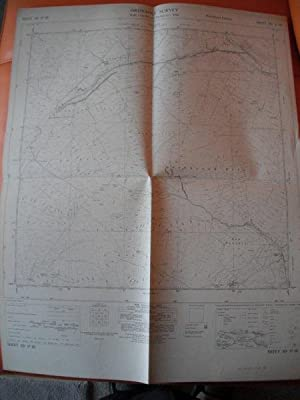 Map of Yorkshire: Sheet SD 87 SE