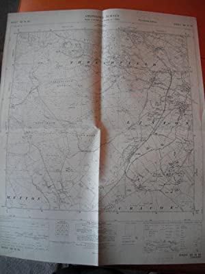 Map of Yorkshire: Sheet SD 96 SE