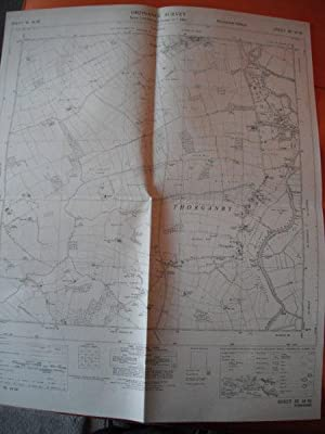 Map of Yorkshire: Sheet SE 64 SE