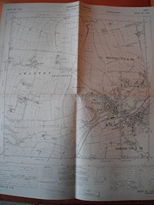 Map of Yorkshire: Sheet SE 77 SE