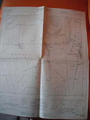 Map of Yorkshire: Sheet SE 88 SE
