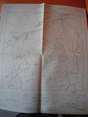 Map of Yorkshire: Sheet SE 98 SE