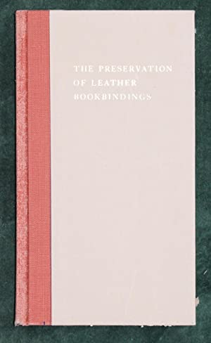The Preservation of Leather Bookbindings: Plenderleith, H J