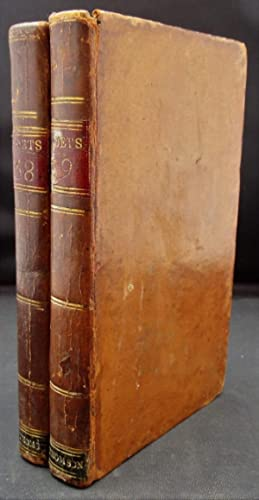 The Poetical Works of James Thomson - [The British Poets vols 38 and 39] - two volumes