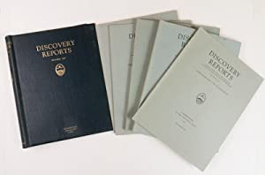 Discovery Reports Volume XIV - Parts 1-4 - Complete Set in five volumes.: Various Scientist of ...