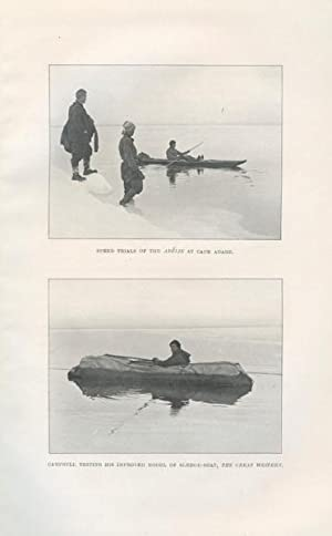 Work and Adventures of the Northern Party of Captain Scott's Antarctic Expedition, 1910-1913. ...