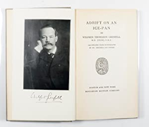 Adrift On An Ice-Pan Signed with illustration by Grenfell: Grenfell, Wilfred Thomason, M.D.