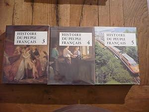 Histoire du peuple français (V tomes complet): PARIAS (Louis) [sous direction de]