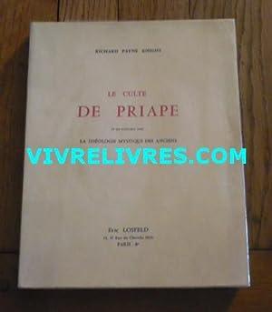 LE CULTE DE PRIAPE et ses rapports: KNIGHT (Payne Richard)