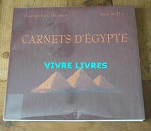 Carnets d'Egypte: DAUBER (Maximilien) /