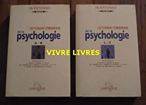 Dictionnaire fondamental de la psychologie (complet en 2 volumes)