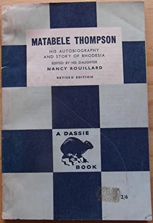 Matabele Thompson: Rouillard, Nancy (ed)