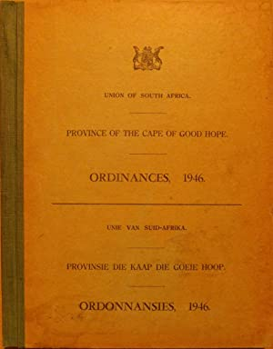 Province of the Cape of Good Hope Ordinances, 1946