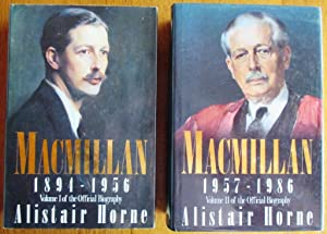 Macmillan 1894-1956 & 1957-1986 (2 Volume set)