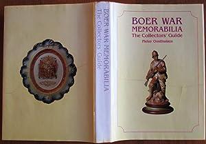 Boer War Memorabilia the Collectors' Guide: Oosthuizen, Pieter