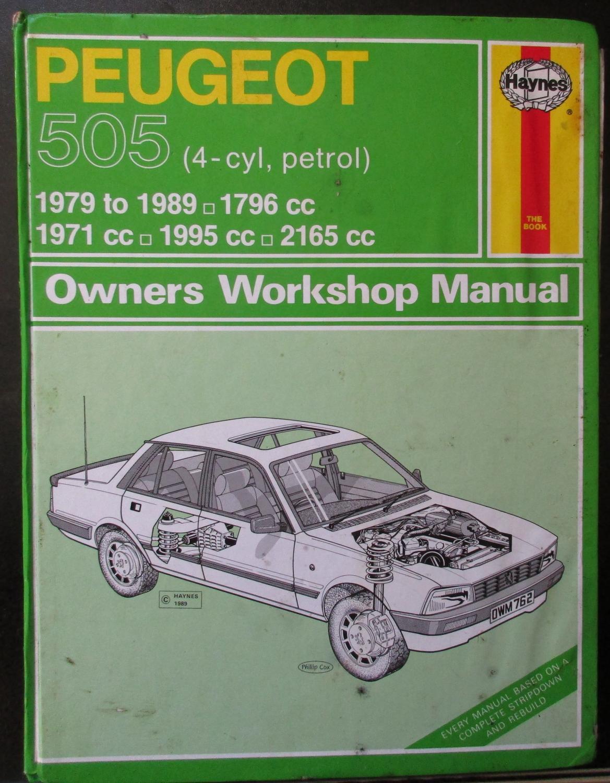 peugeot 505 abebooks rh abebooks com eBay Peugeot 505 504 Partes Peugeot 505 Engine