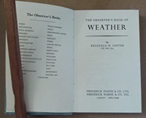 The Observer Book of the Weather