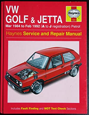 Volkswagen Golf and Jetta ('84 to '92): Coomber, I M