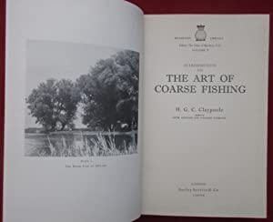 Introduction to the Art of Coarse Fishing. Beaufort Library Volume V