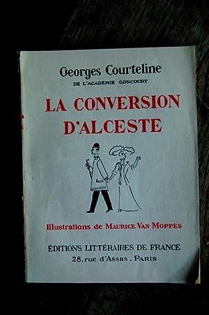 La conversation d'Alceste: Georges Courteline