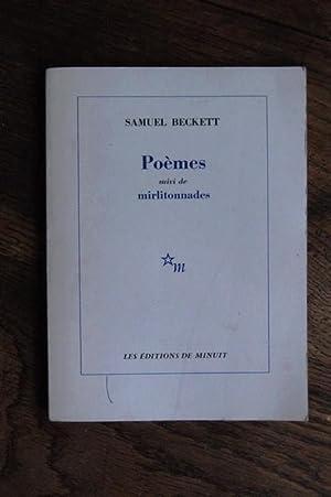 Poèmes, suivi de Mirlitonnades: Samuel Beckett