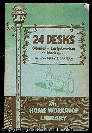 24 Desks Colonial, Early American, Modern