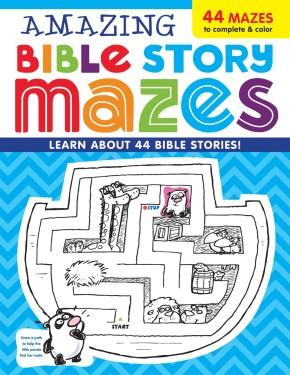 Amazing Bible Story MAZES (I'm Learning the Bible Activity Book)
