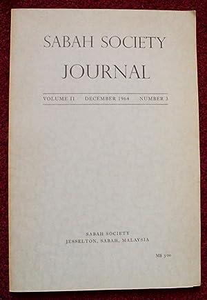 Sabah Society Journal Volume II December 1964