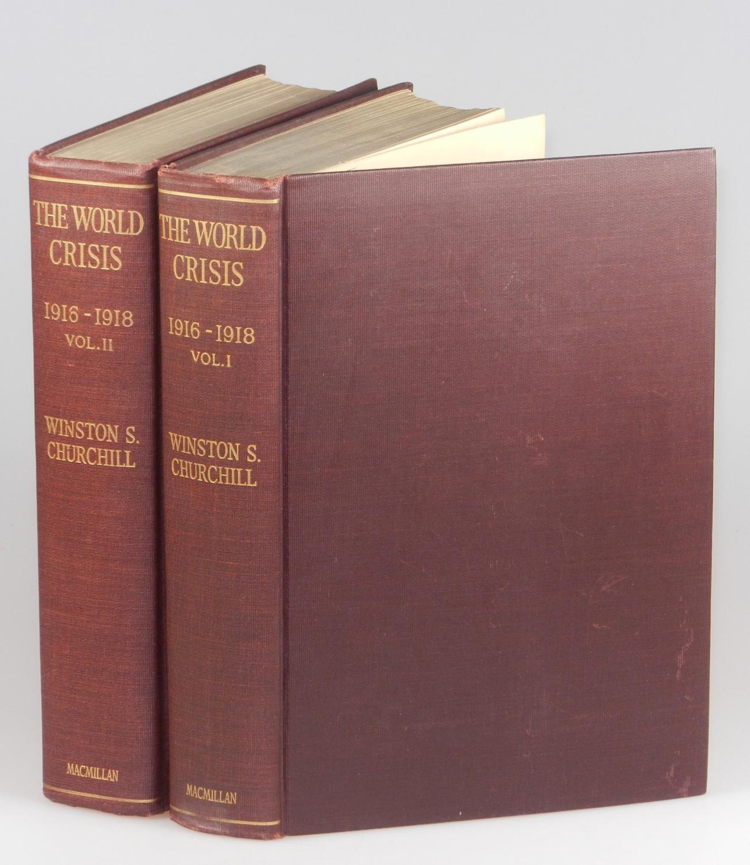 The World Crisis: 1916-1918, Parts I & II Winston S. Churchill Hardcover