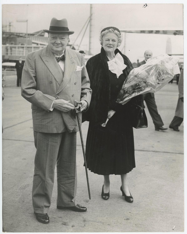 An Original Press Photo Of Sir Winston S