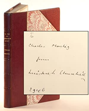 La Fin Du Commencement (The End of the Beginning), inscribed and dated by Churchill to Charles Mo...