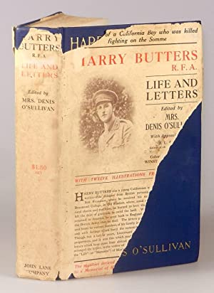 Harry Butters, R.F.A.