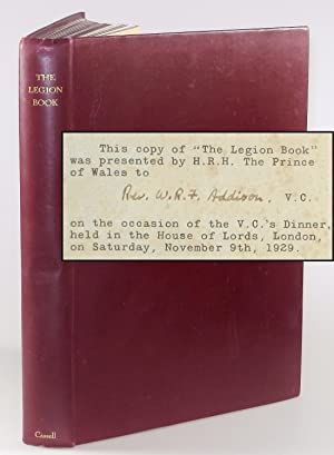 The Legion Book, one of 396 copies presented by the Prince of Wales at a dinner for Victoria Cros...