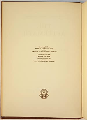 The World Crisis, full set of U.S. first editions inscribed and dated by Churchill: Winston S. ...